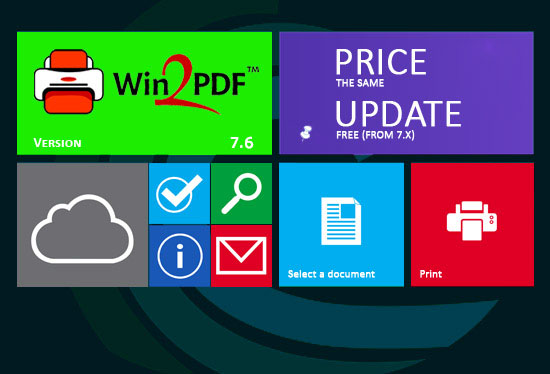 Win2PDF 7.6.0. Certificato per Windows 8.1